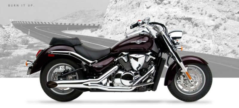 GMan Motorcycle Performance Exhaust for Suzuki C90, C90T and BOSS 2013+