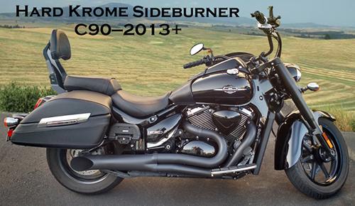 gman motorcycle performance exhaust  suzuki  ct  boss