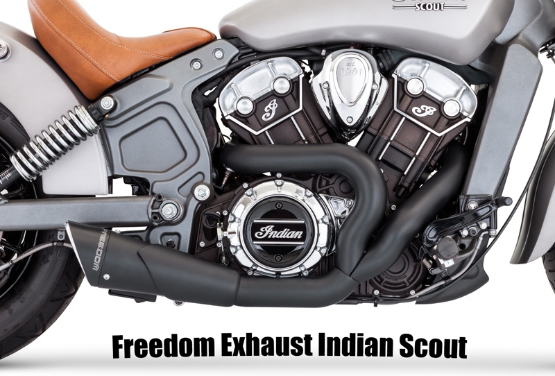 Gman Motorcycle Performance Exhaust For The Indian Scout