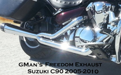 GMan Freedom Exhaust C90 2005-2010