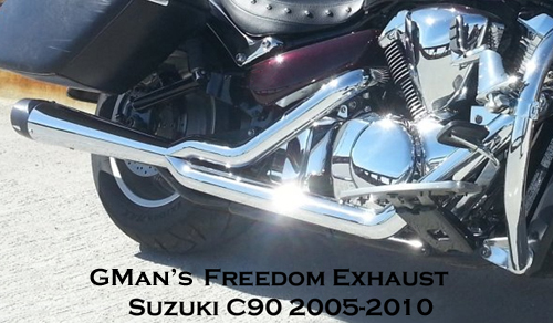 EXHC9005_334X334 gman freedom motorcycle performance exhaust for suzuki boulevard suzuki boulevard c90 fuse box location at crackthecode.co