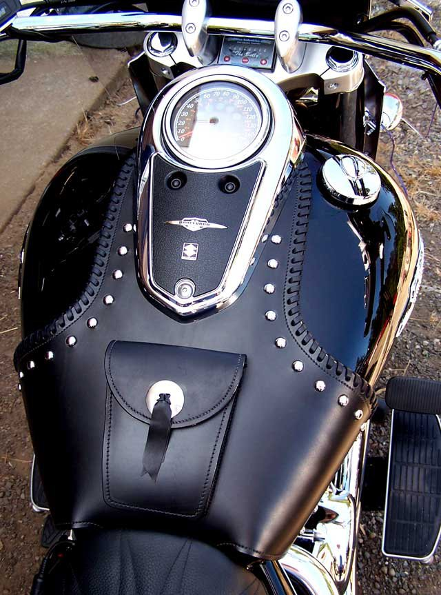 Oxygen Tank For Sale >> GMan Custom Handmade Motorcycle Leather Products. Made in ...