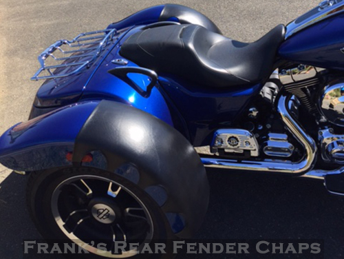 Gman Custom Handmade Rear Fender Chaps To Protect Your Hd